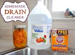home made drain cleaners